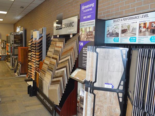 Flooring showroom serving the Loris, SC area