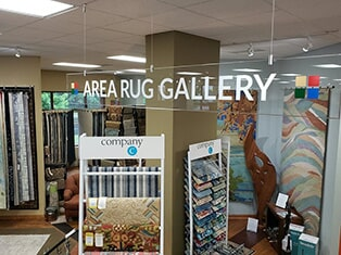 Our area rug gallery in Traverse City, MI at Carpet Galleria