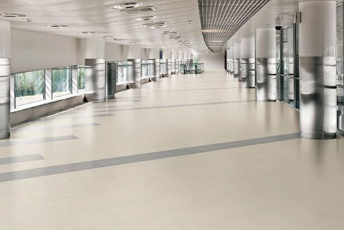 Commercial flooring installation in Richmond, BC from Discount Carpet and Flooring