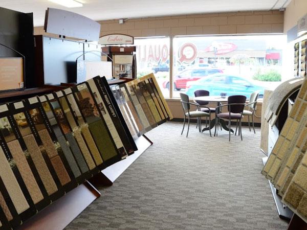 Flooring showroom serving the Munster, IN area