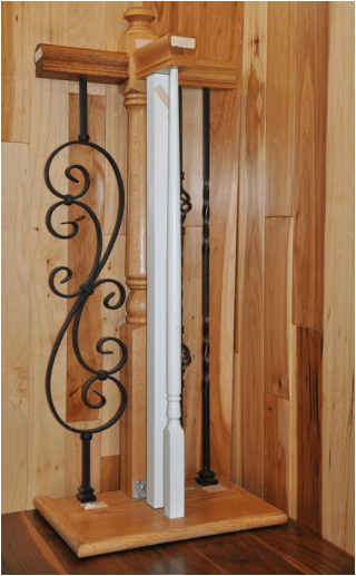 Stair Systems in Hickory, Lenoir, & Morganton NC from Munday Hardwoods, Inc