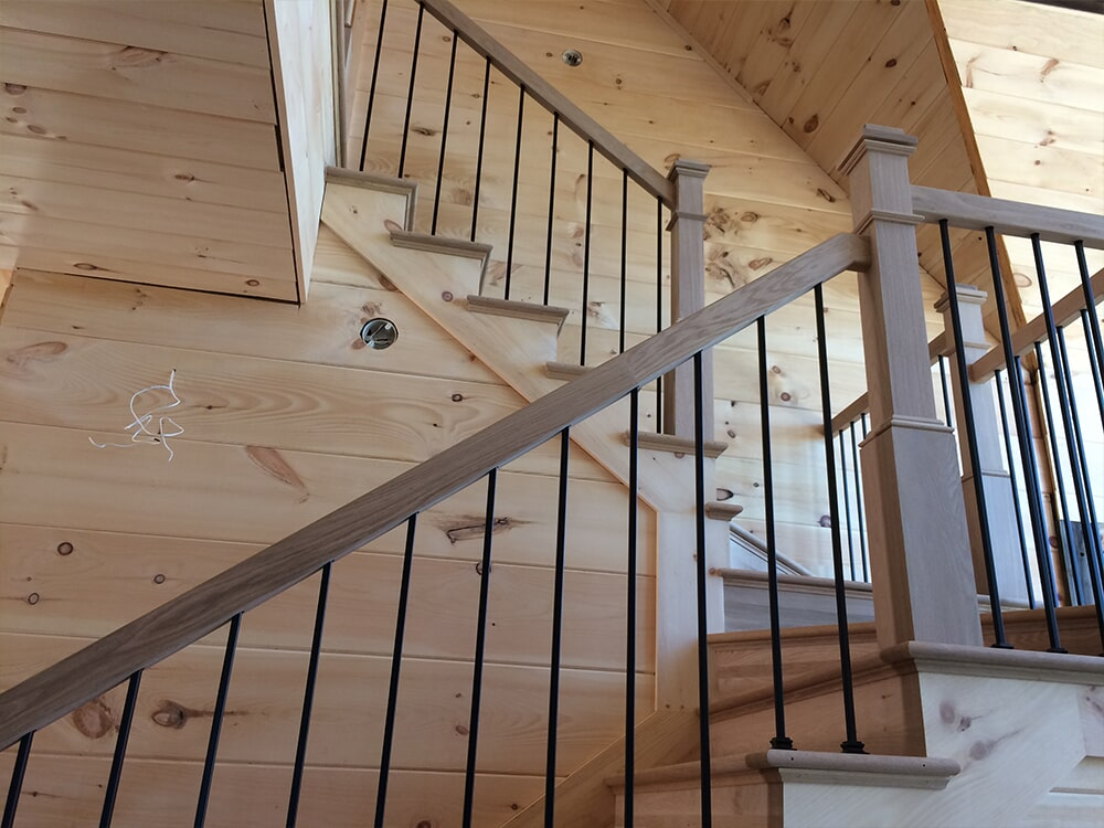 Stair Systems in Taylorsville, NC from Munday Hardwoods, Inc