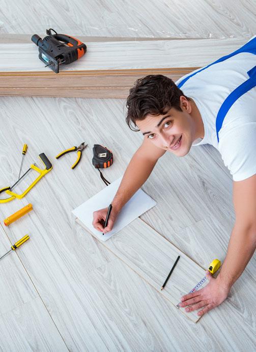 Flooring installation in Pottstown, PA from Rich Ranieri Inc.