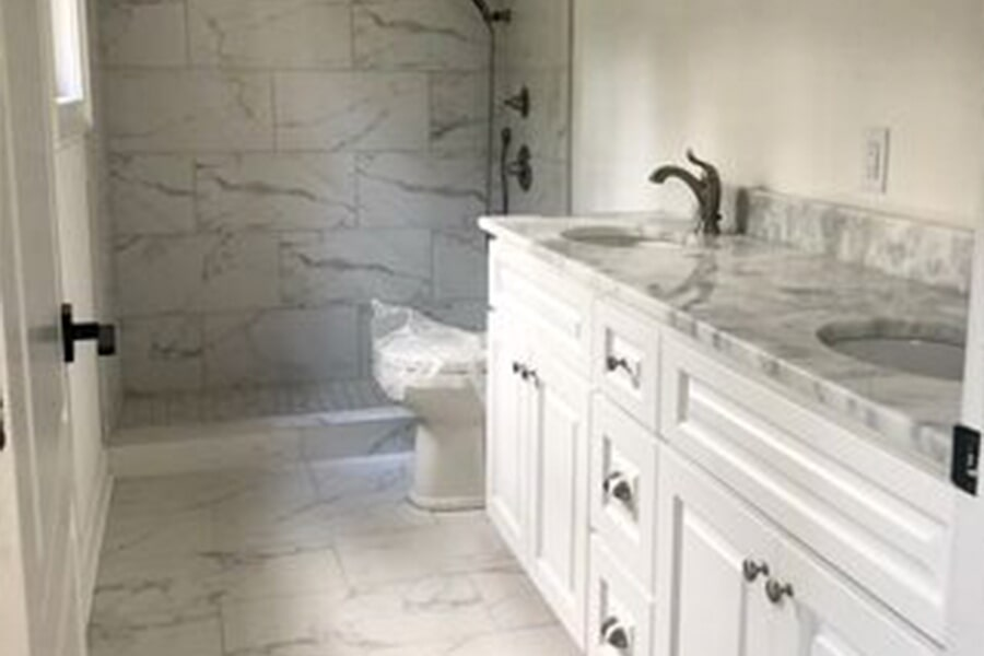 Bath remodeling in Cornelius, NC from LITTLE Wood Flooring & Cabinetry