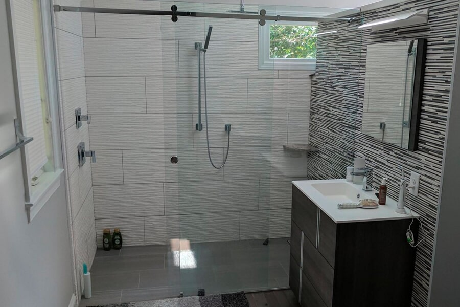 Bath remodeling in Mooresville, NC from LITTLE Wood Flooring & Cabinetry