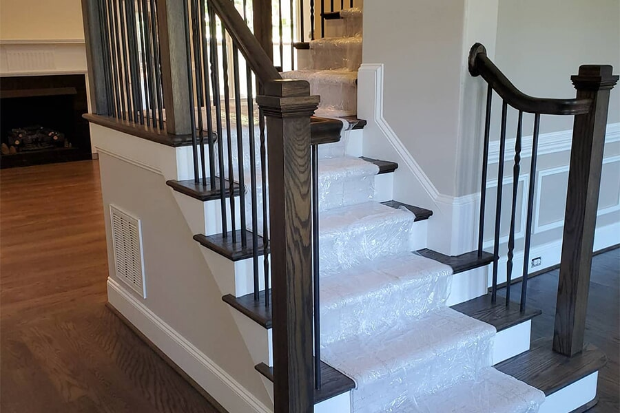 Staircases in Lake Norman, NC from LITTLE Wood Flooring & Cabinetry