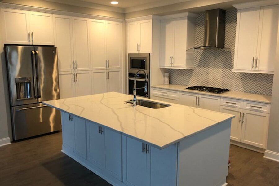 Kitchen remodeling in Lake Norman, NC from LITTLE Wood Flooring & Cabinetry