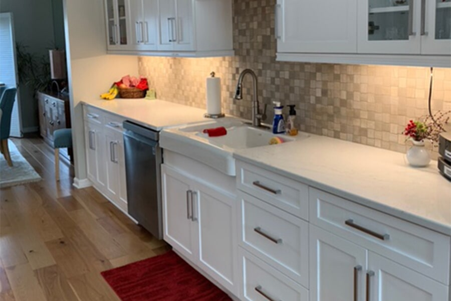 Kitchen remodeling in Huntersville, NC from LITTLE Wood Flooring & Cabinetry