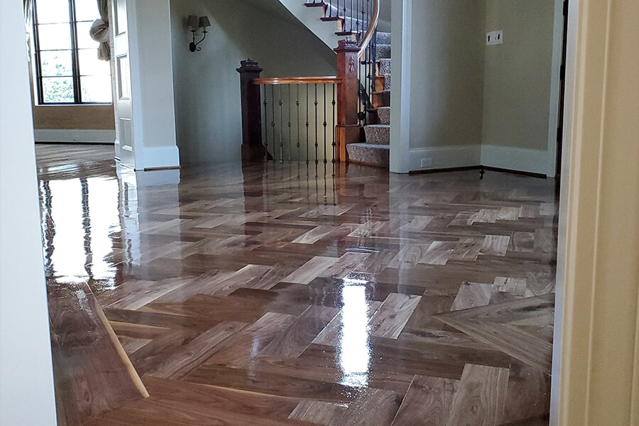 Sand & refinishing in Cornelius, NC from LITTLE Wood Flooring & Cabinetry