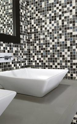 Glass tile flooring in Port Matilda, PA from Complete Floor Covering Of Lemont