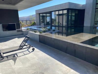 Outdoor commercial space in Las Vegas, NV from GoPro Interiors