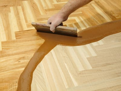 Floor refinishing from Floor De Lis