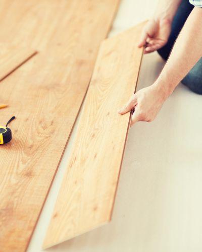 Flooring installation from International Wood Floors