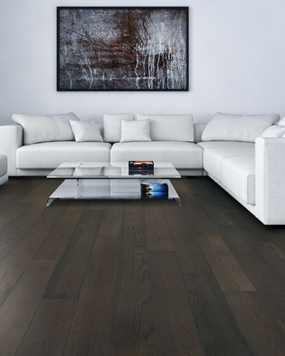 Hardwood flooring in Hillsborough, CA from Harry's Carpets