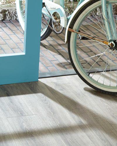 Laminate flooring in