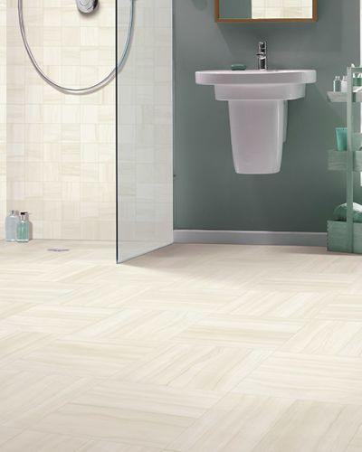 Tile flooring in