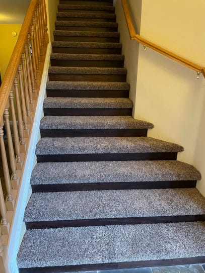 Carpet stair installation in Mesa, AZ from State 48 Floors