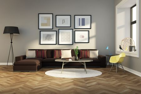 Modern hardwood flooring ideas in Los Gatos, CA from The Wood Floor Company
