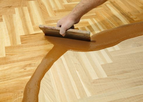 Hardwood Refinishing in Edmond, OK area from Smith Carpet & Tile Center