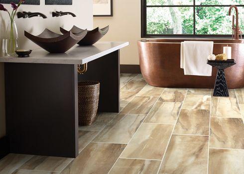 Ceramic tile flooring in Edmond, OK from Smith Carpet & Tile Center