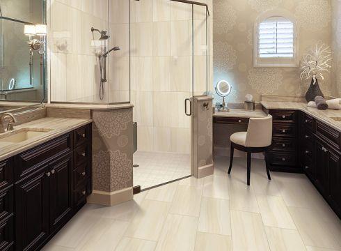 Ceramic tile flooring in Zimmerman, MN from Lefebvre's Carpet, LLC