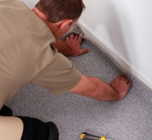 Carpet Binding & Re-stretch in Cincinnati, OH area from Bush's Flooring Center