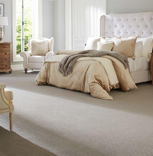 Luxury bedroom carpet in Springfield  IL from Calhoun's Floorz
