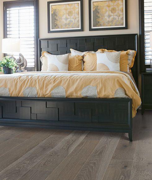 Modern hardwood floors in Pleasant View TN from Guthrie Flooring