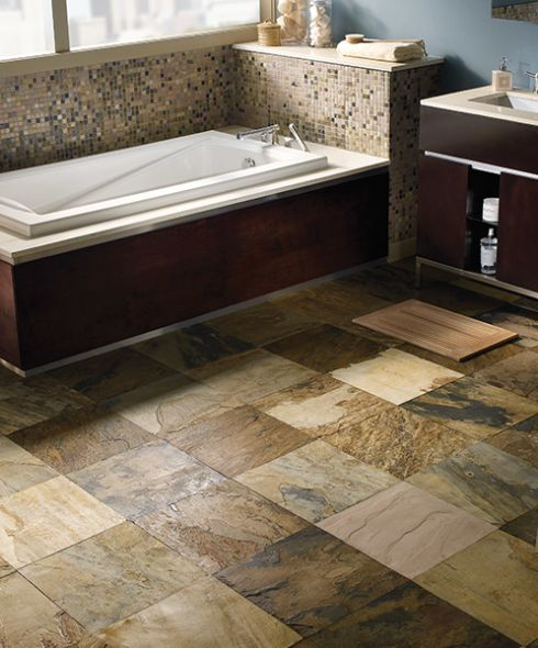 Ceramic tile flooring in Beltsville, MD from Contract Carpet One