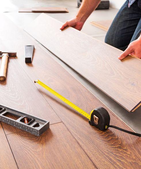 Flooring installation in Amherst, MA area from Summerlin Floors
