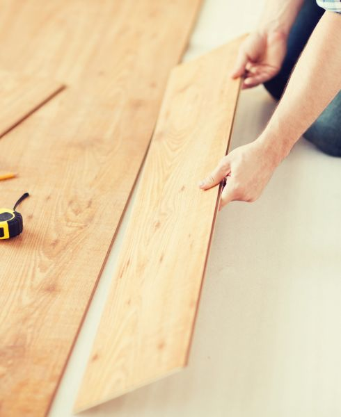 Flooring installation in Santa Ana, CA area from Avalon Wood Flooring