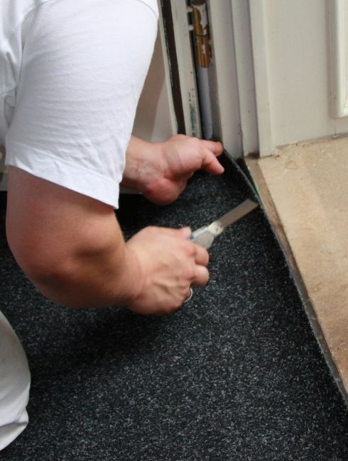 Re-Stretching & Repairs in Orland Park, IL area from Sherlock's Carpet & Tile