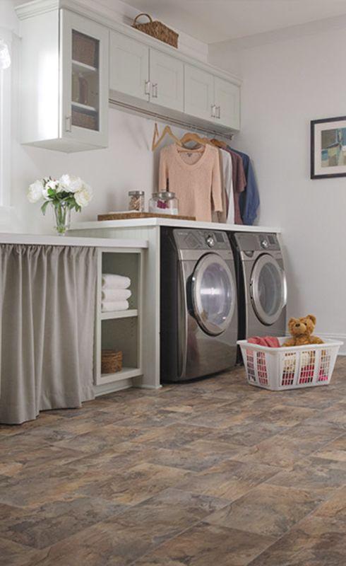 Waterproof laundry room floors in Fleming Island FL from Designer Floors & More