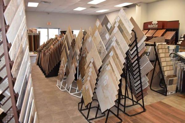 Flooring shop serving the Orange, TX area