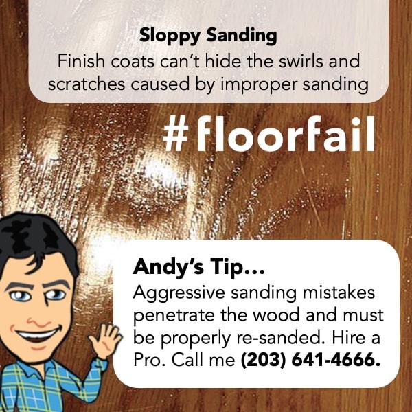 Hardwood sanding in New Rochelle, NY from All Hardwood Floors