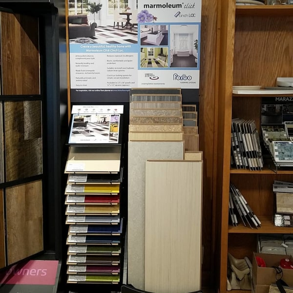 Flooring shop serving the Lemont, PA area