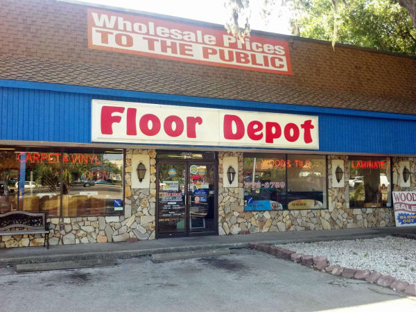 Flooring shop serving the Dunedin, FL area