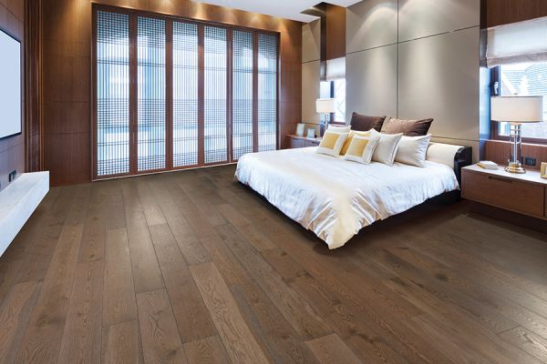 Hardwood floor installation in University City MO from Flooring Galaxy