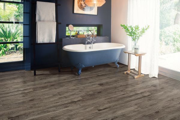 Waterproof luxury vinyl floors in Woodland WA from All About Floors NW