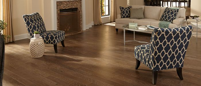 Mohawk hardwood flooring in [[ cms:structured_address_city]] from L & P Carpet, Inc