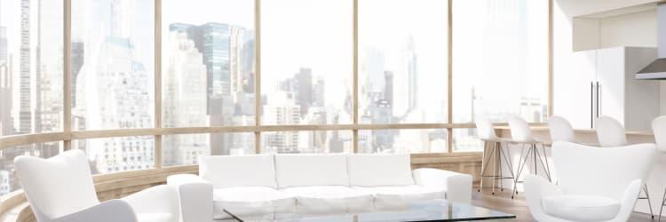 Modern flooring installation in a Baltimore, MD luxury home
