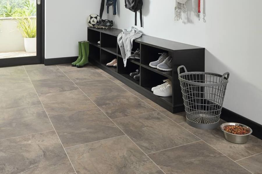 Contemporary luxury vinyl in Old Westbury, NY from Anthony's World of Floors