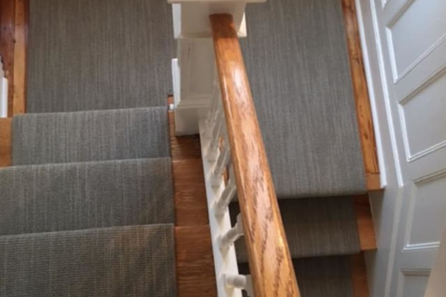 Stair runners in Plandome Manor, NY from Anthony's World of Floors