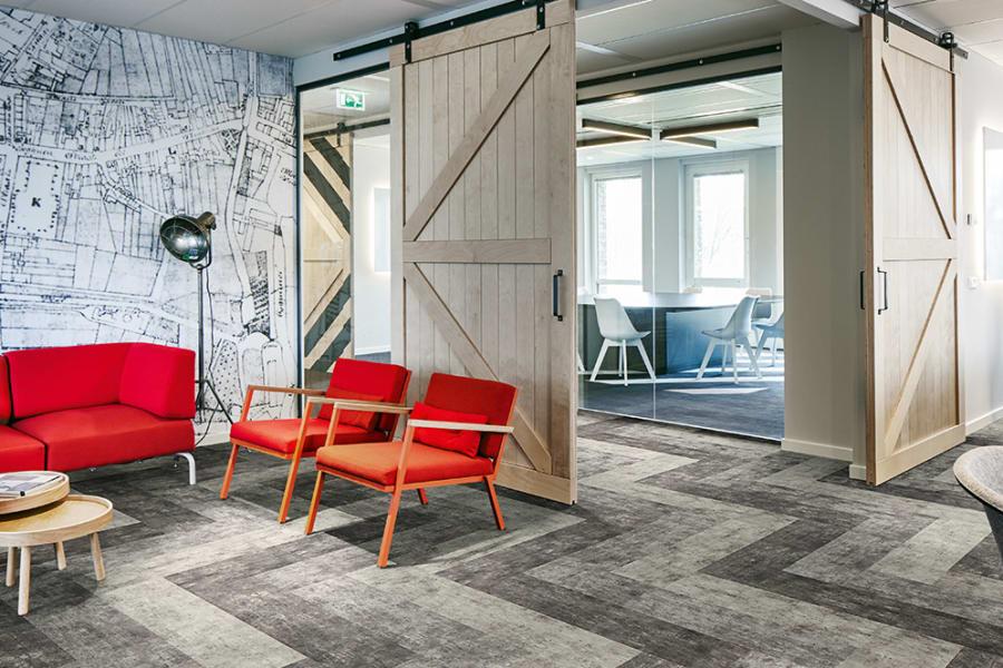 Innovative carpet tile in Henrico, VA from Costen Floors