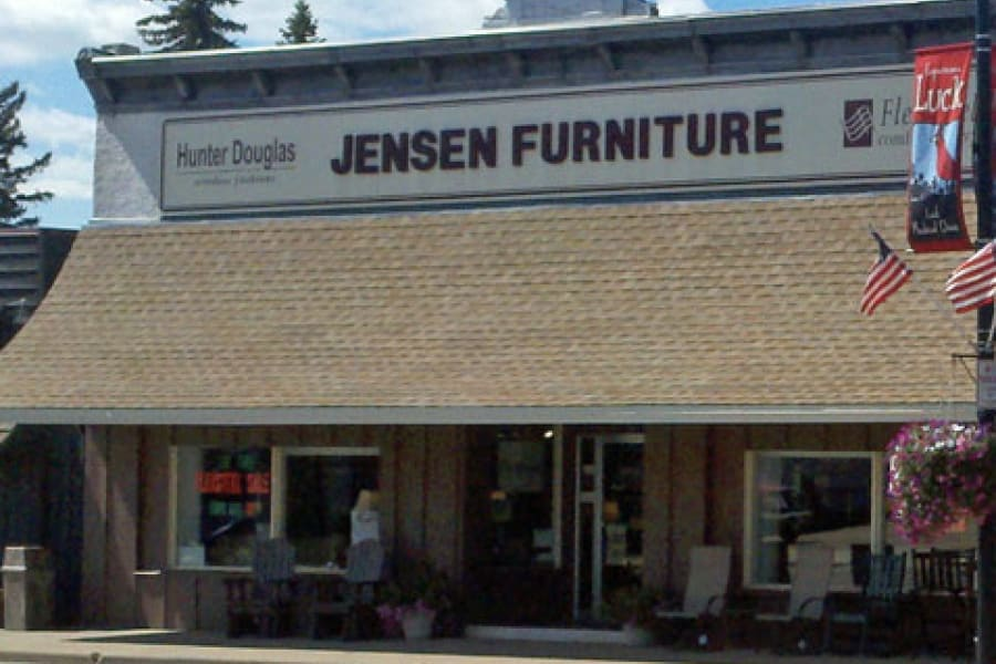 Flooring design professionals in the Luck, WI area - Jensen Furniture