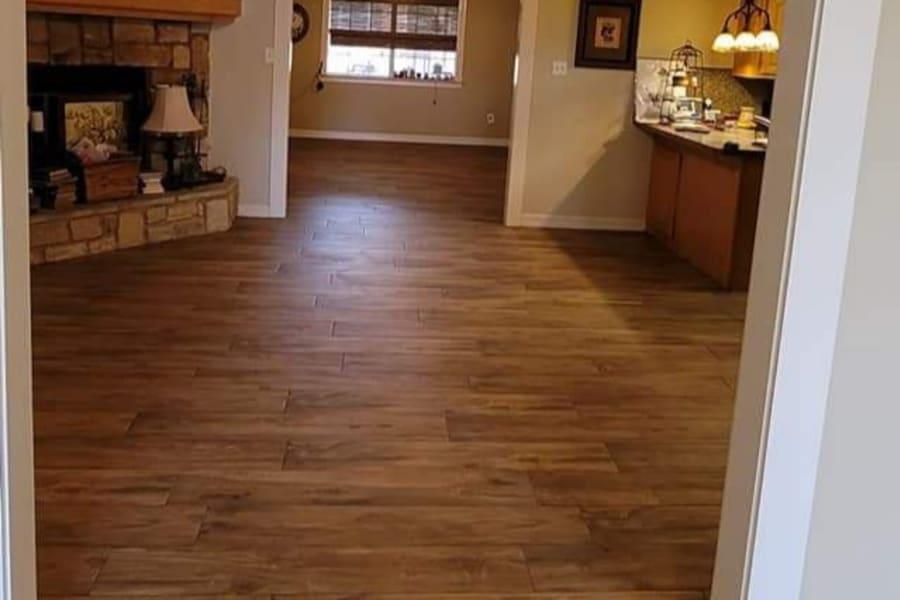 Timeless hardwood in Port Arthur, TX from Lone Star Flooring