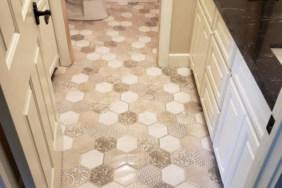Favored tile in Beaumont, TX from Lone Star Flooring