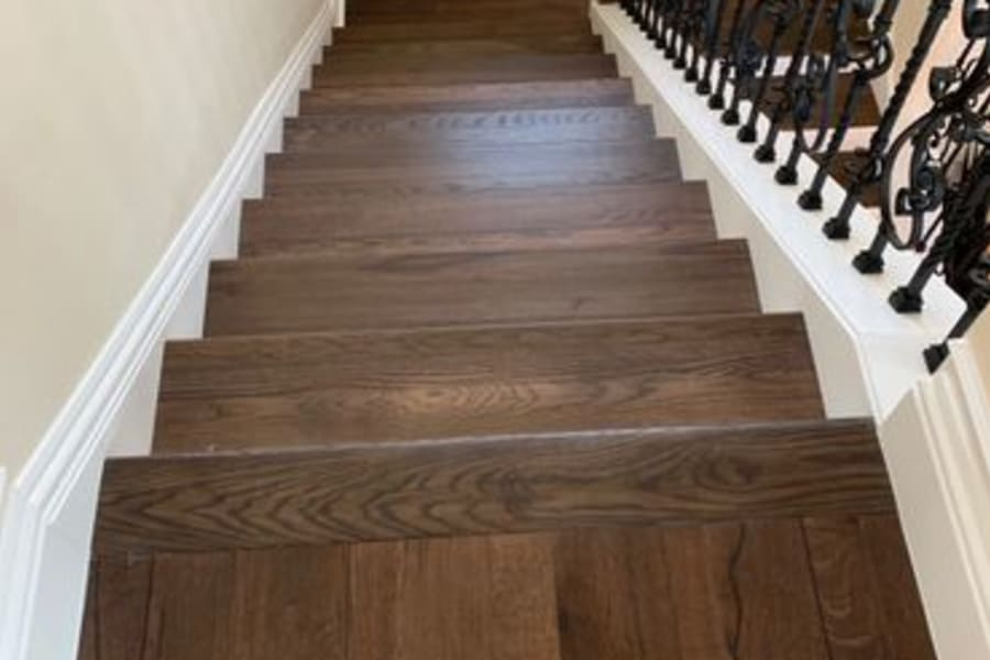 Custom stairs in Fort Myers, FL from Supreme Floors