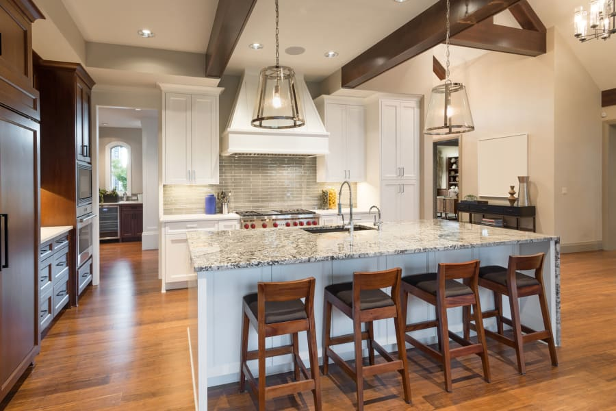 Modern kitchen in Gonzales, LA from Marchand's Interior & Hardware
