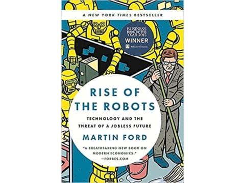 La couverture du livre Rise of the Robots de Martin Ford.